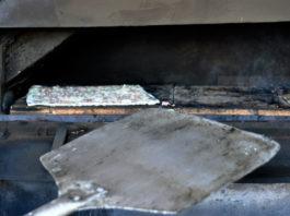 Flammkuchen im Ofen